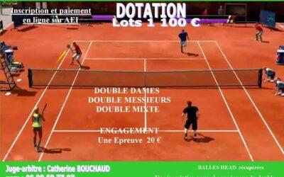 OPEN de Doubles Tennis de Saint-Pierre